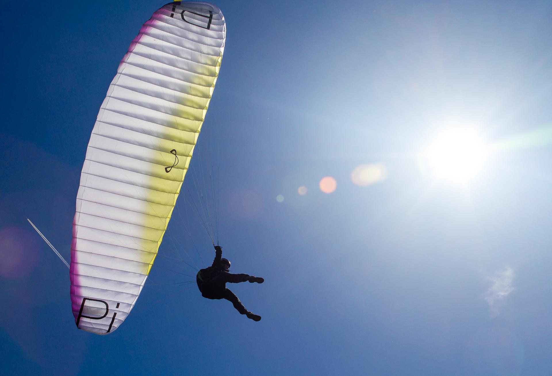 atterrissage PArapente de Lesches-en-Diois